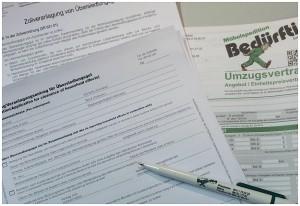 Formulare und Formalitäten beim Umzug in die Schweiz