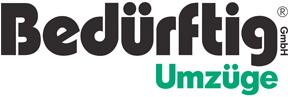 Logo Umzugsunternehmen Bedürftig GmbH